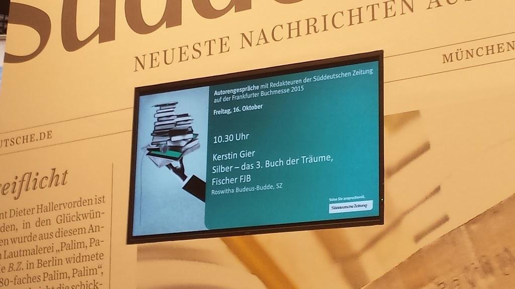 Frankfurter Buchmesse 2015 - Nach der Messe ist vor der Messe