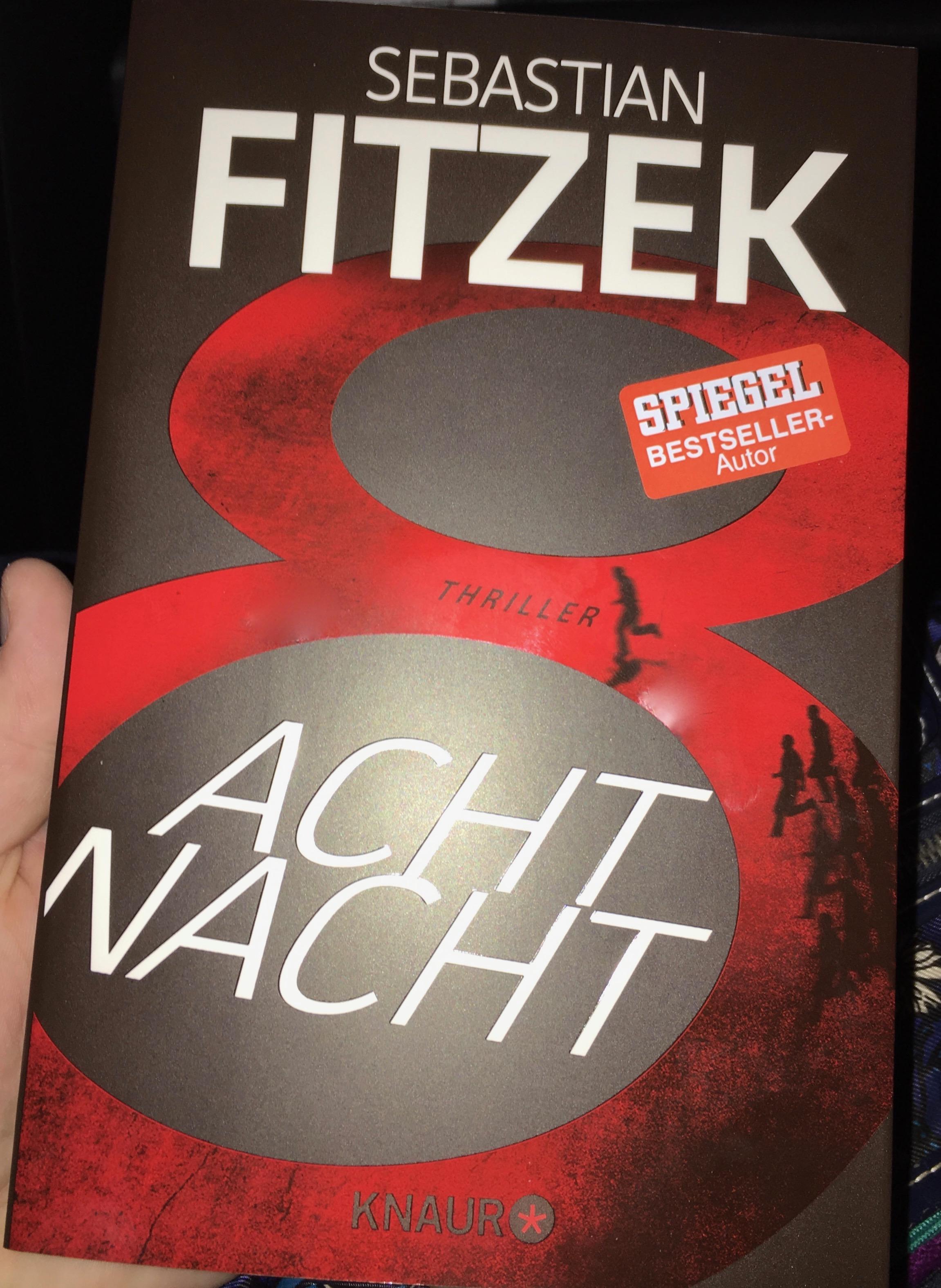 (Rezension) AchtNacht von Sebastian Fitzek