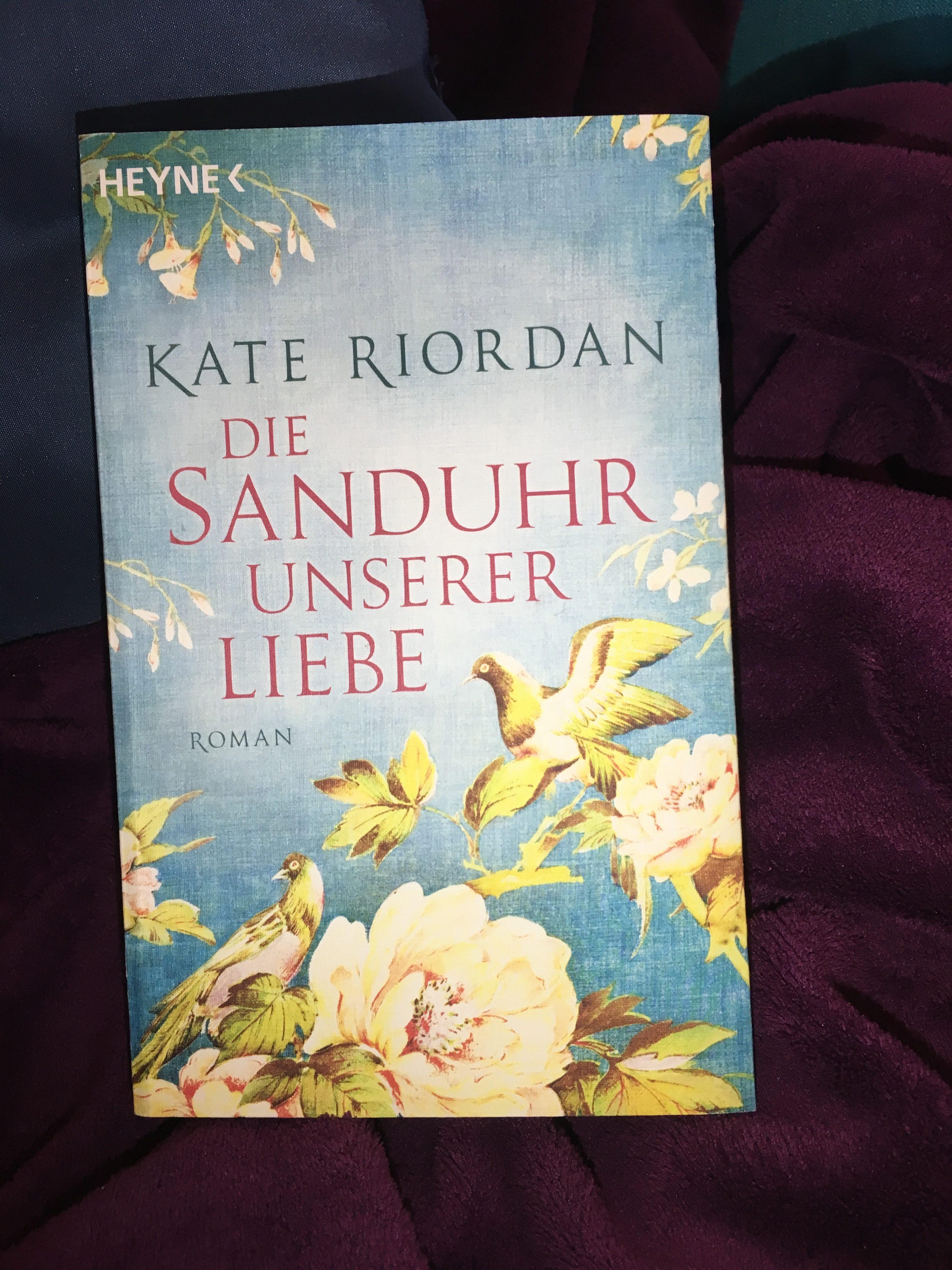 (Rezension) Die Sanduhr unserer Liebe - Kate Riordan